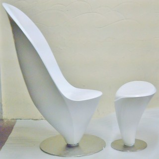 Leaf Shape Chair
