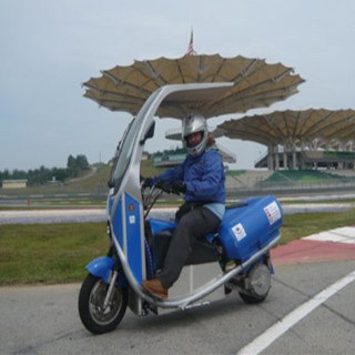 Malaysia Solar bike